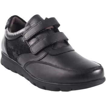 Zapatos Mujer Derbie Relax 4 You Zapato señora  1411 negro Negro