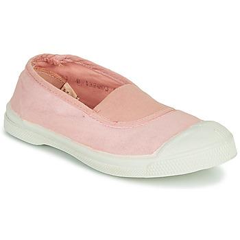 Zapatos Niña Zapatillas bajas Bensimon TENNIS ELASTIQUE Rosa