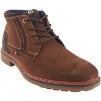 Zapatos Hombre Botas de caña baja Bitesta Botín caballero  32173 cuero Marrón