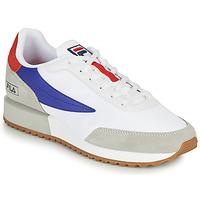 Zapatos Hombre Zapatillas bajas Fila RETRONIQUE Blanco / Azul / Rojo
