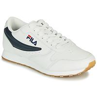 Zapatos Hombre Zapatillas bajas Fila ORBIT LOW Blanco / Azul