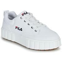Zapatos Mujer Zapatillas bajas Fila SANDBLAST C WMN Blanco