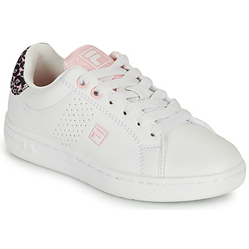 Zapatos Niña Zapatillas bajas Fila CROSSCOURT 2 NT KIDS Blanco / Rosa