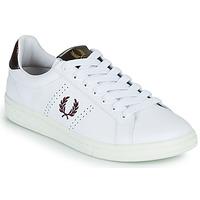 Zapatos Hombre Zapatillas bajas Fred Perry B721 Blanco