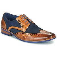 Zapatos Hombre Derbie Kdopa MANI Camel / Azul