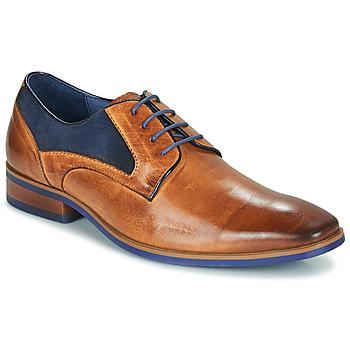 Zapatos Hombre Derbie Kdopa CONNOR Camel / Azul