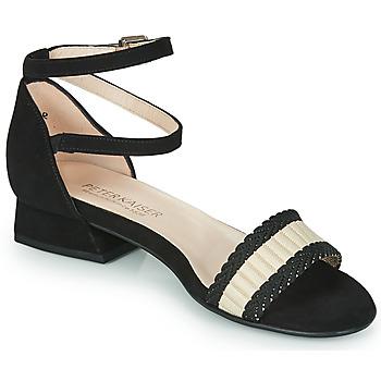 Zapatos Mujer Sandalias Peter Kaiser PUERTO Negro