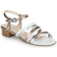 Zapatos Mujer Sandalias Peter Kaiser PATIA Bronce / Blanco