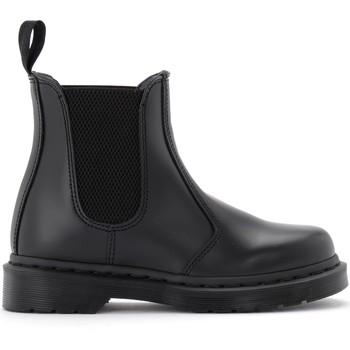 Zapatos Mujer Low boots Dr Martens Bota 2976 Mono de piel negra Negro