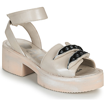 Zapatos Mujer Sandalias Papucei AMON Beige