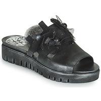 Zapatos Mujer Zuecos (Mules) Papucei ARO Negro