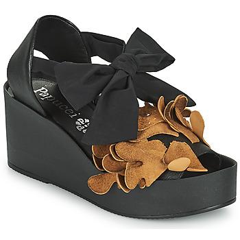 Zapatos Mujer Sandalias Papucei MAYA Negro / Marrón