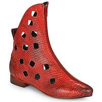 Zapatos Mujer Botas de caña baja Papucei SAKURA Rojo