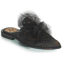 Zapatos Mujer Zuecos (Mules) Papucei WILLOW Negro