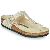 Zapatos Mujer Chanclas Birkenstock GIZEH Oro