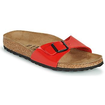 Zapatos Mujer Zuecos (Mules) Birkenstock MADRID Rojo