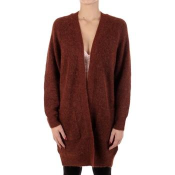 textil Mujer Chaquetas de punto Selected 16074480 Ladrillo