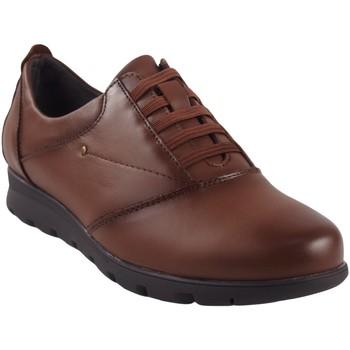 Zapatos Mujer Derbie Relax 4 You Zapato señora  1410 cuero Marrón