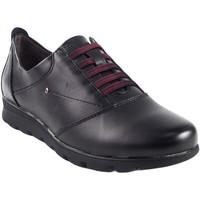 Zapatos Mujer Derbie Relax 4 You Zapato señora  1410 negro Negro