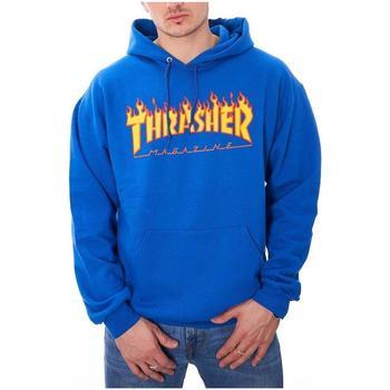 textil Hombre Sudaderas Thrasher FLAME-ROY Azul