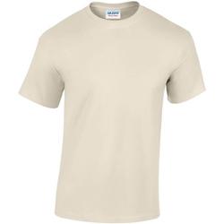 textil Hombre Camisetas manga corta Gildan GD05 Beige