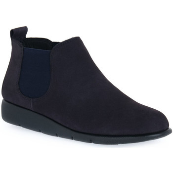 Zapatos Mujer Botas de caña baja Frau NABOUCK NAVY Blu
