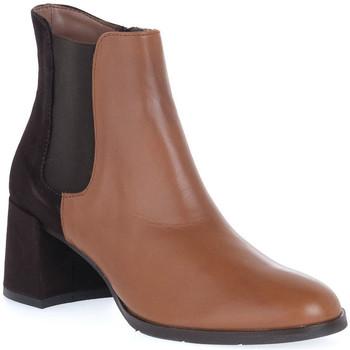 Zapatos Mujer Botines Priv Lab VITELLO CUOIO Marrone