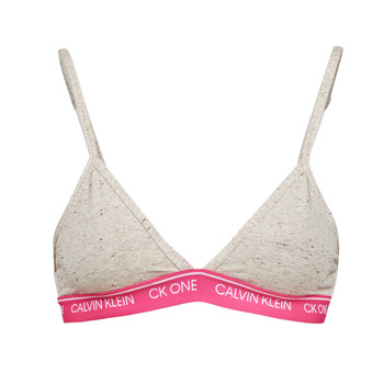 Ropa interior Mujer Triángulo/Sin Aros Calvin Klein Jeans UNLINED TRIANGLE Gris / Rosa