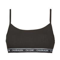 Ropa interior Mujer Sujetador Calvin Klein Jeans UNLINED BRALETTE Negro