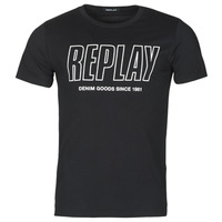 textil Hombre Camisetas manga corta Replay M3395-2660 Negro