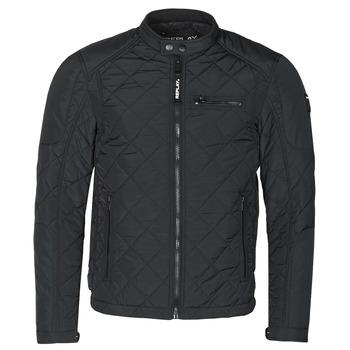 textil Hombre cazadoras Replay M8000-83110 Negro