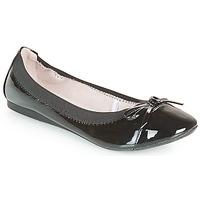 Zapatos Mujer Bailarinas-manoletinas Moony Mood ELALA Barniz / Negro