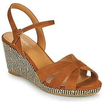 Zapatos Mujer Sandalias Moony Mood MALIA Camel