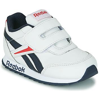 Zapatos Niños Zapatillas bajas Reebok Classic REEBOK ROYAL CLJOG 2 KC Blanco / Marino / Rojo