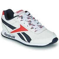 Zapatos Niños Zapatillas bajas Reebok Classic REEBOK ROYAL CLJOG 2 Blanco / Marino / Rojo