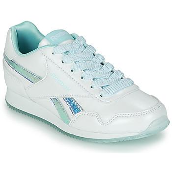 Zapatos Niña Zapatillas bajas Reebok Classic REEBOK ROYAL CLJOG 3.0 Blanco / Azul