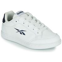 Zapatos Niños Zapatillas bajas Reebok Classic REEBOK ROYAL VECTOR SMASH Blanco / Azul