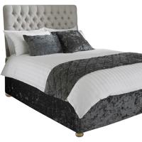 Casa Ropa de cama Riva Home Super King RV1098 Gris metalizado