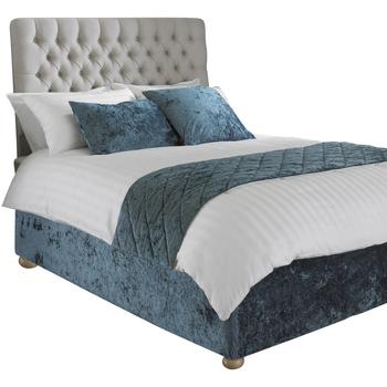 Casa Ropa de cama Riva Home Lit King Size RV1098 Verde azulado