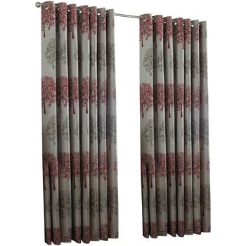 Casa Cortinas, persianas Riva Home Taille 1: 117 x 137cm RV1089 Rojo