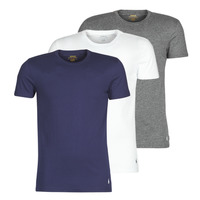 textil Hombre Camisetas manga corta Polo Ralph Lauren SS CREW NECK X3 Marino / Gris / Blanco