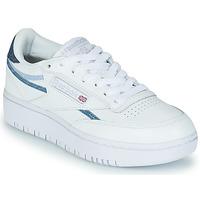 Zapatos Mujer Zapatillas bajas Reebok Classic CLUB C DOUBLE Blanco / Azul