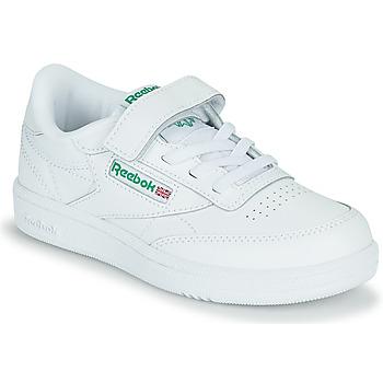 Zapatos Niños Zapatillas bajas Reebok Classic CLUB C 1V Blanco