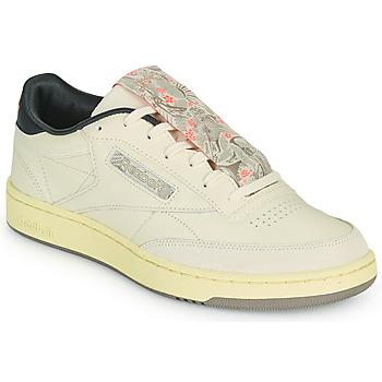 Zapatos Hombre Zapatillas bajas Reebok Classic CLUB C 85 Beige / Negro