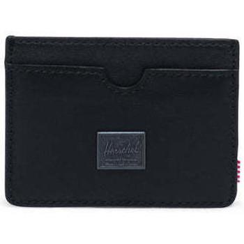 Bolsos Cartera Herschel Charlie Leather RFID Black