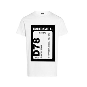 textil Niño Camisetas manga corta Diesel TFULL78 Blanco