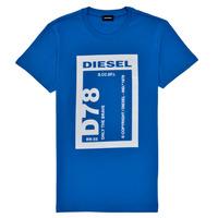 textil Niño Camisetas manga corta Diesel TFULL78 Azul
