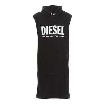 textil Niña Vestidos cortos Diesel DILSET Negro