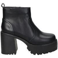 Zapatos Mujer Botines Emmshu BOTINES  BRAT MODA JOVEN BLACK Noir