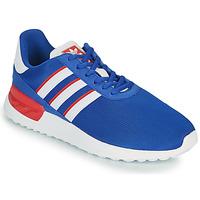 Zapatos Niños Zapatillas bajas adidas Originals LA TRAINER LITE J Azul / Blanco